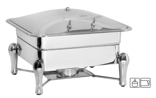 Chafing Dish Lift Top 6.5 ltr. with Sleek Stand