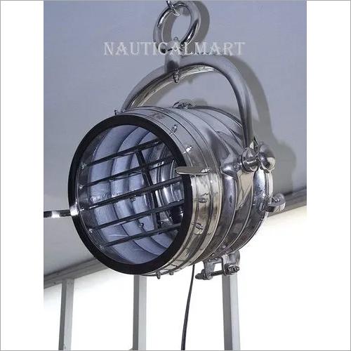 NauticalMart Steel Pendant Hanging Light Modern Vintage Chrome Finish Home Decor Pendant Light