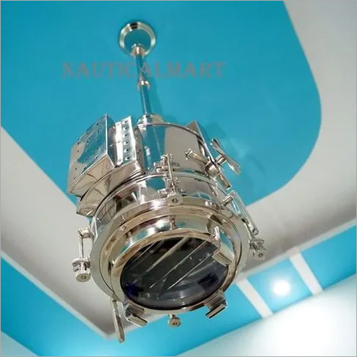 NauticalMart Vintage Metal Spot Nautical Industrial Searchlight Ceiling Pendant Light
