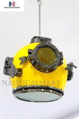 NauticalMart Ceiling Retro Divers Pendant Light Hanging Light for Living Room, Hallway, Dinning Room Ceiling Light, Study Room, Bedroom, Kitchen Light