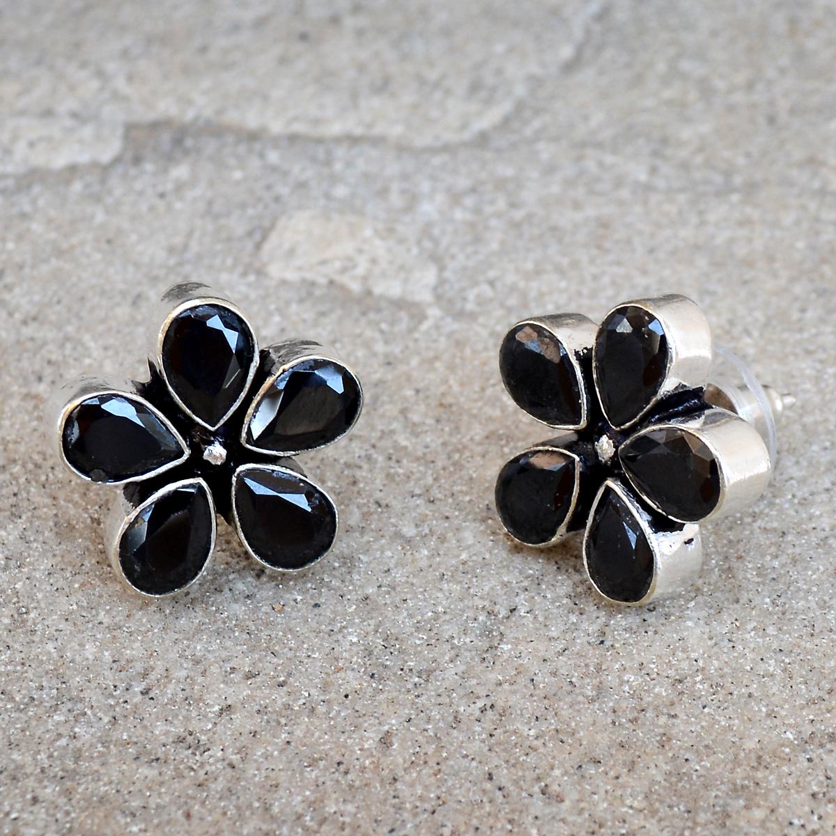 Black Onyx Earring PG-122586