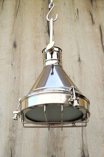 NauticalMart Chrome Grill Pendant LAMP