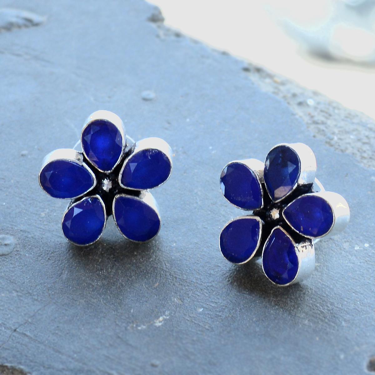 Blue Quartz Earring PG-122587