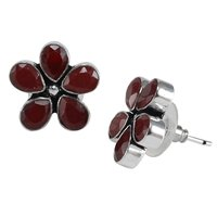 Red Quartz Earring PG-122590