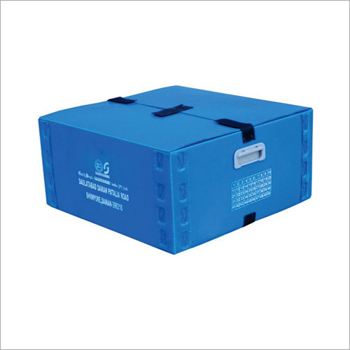 Printed PP Corrugated Box With Handle