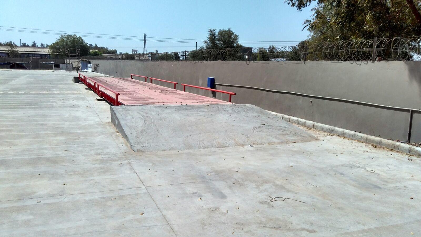Pitless weighbridge