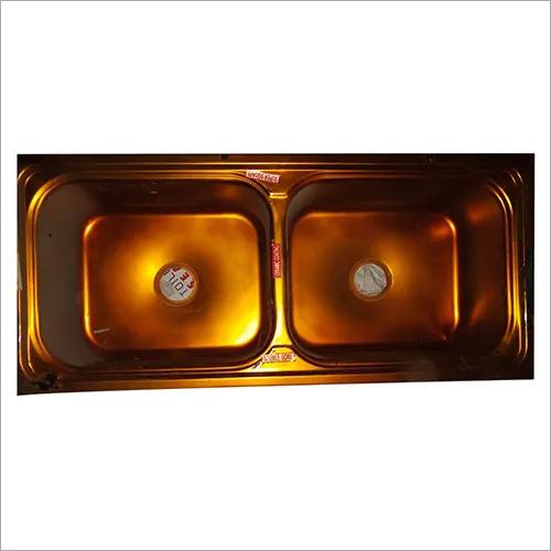 45X20X10 SUPER SQUARE Double Bowl Sink