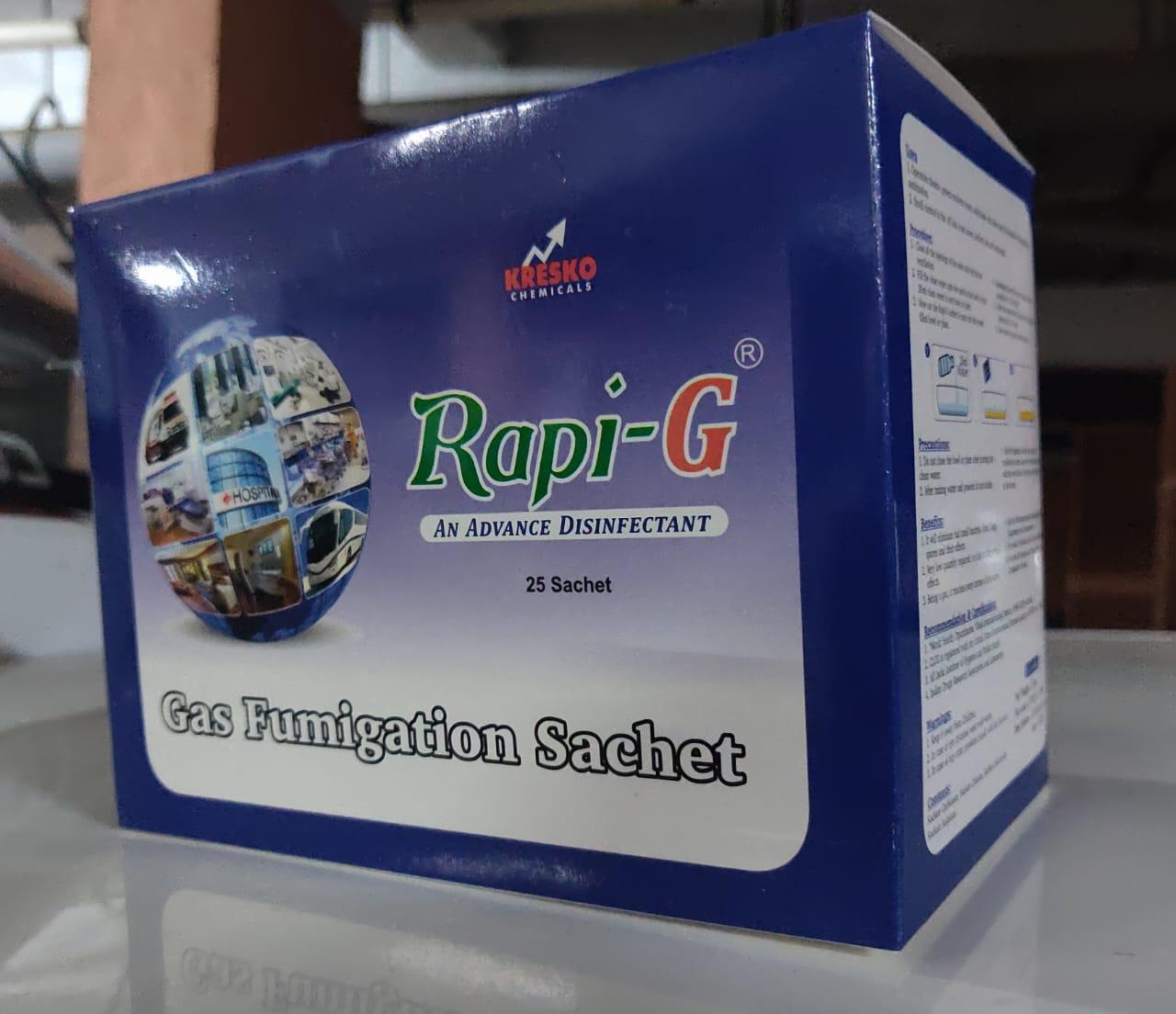 RAPI - G  ( Gas Fumigation sachet)