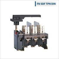 Type FN S-D-F suitable for DIN fuse-link (2P) in open execution