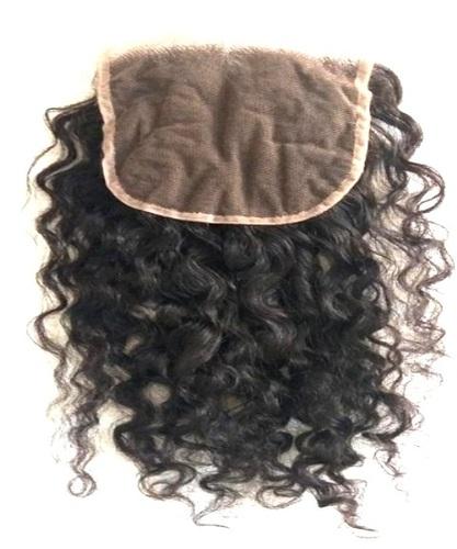 Top grade 100% unprocessed Raw Natural Curly Hair Closure