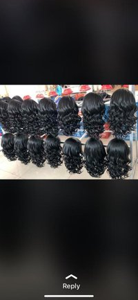 100% VIRGIN HUMAN HAIR LACE FRONT WIGS 13X4
