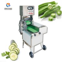 FC-305 Okra Slicing machine Okra cutting machine Lotus slicing machine