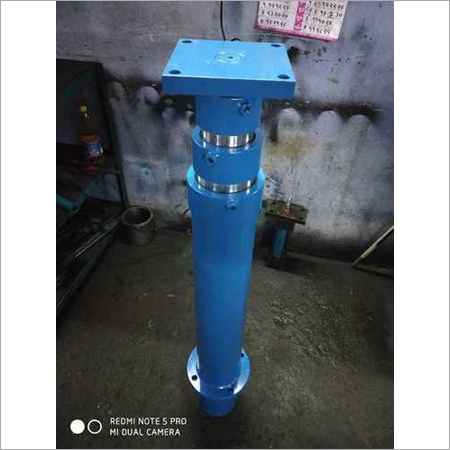 Single Acting Telescopic Hydraulic Cylinder