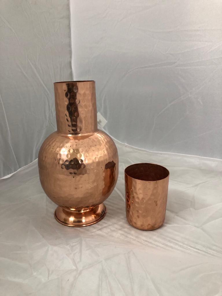 Pure Copper Gangawati Hammered