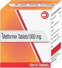 Metformin Tablets 1000 mg