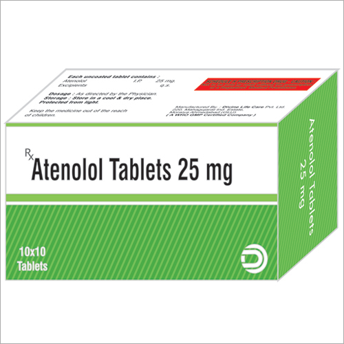 Atenolol Tablets 25 mg