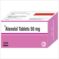 Atenolol Tablets 50 mg