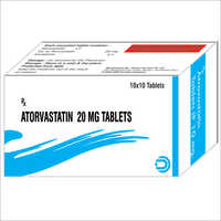 Atorvastatin Tablets 20 mg