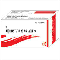 Atorvastatin Tablets 40 mg