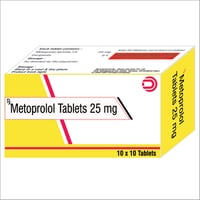Metoprolol Tablets 25 mg