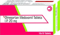 Olmesartan Medoxomil Tablets IP 20 mg