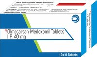 Olmesartan Medoxomil Tablets IP 40 mg