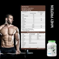 Whey Protein Blend (2.2 LBS) French Vanilla Cream 1 Kg