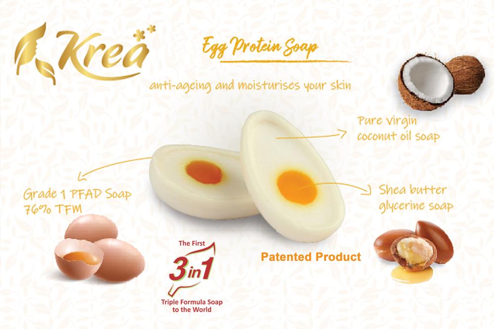 Egg Bath Soap