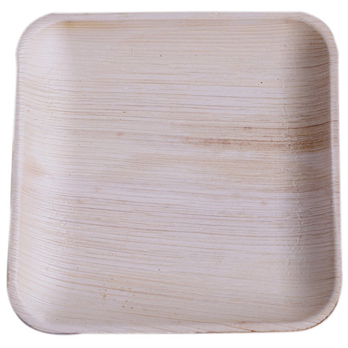 Square Areca Leaf Tray