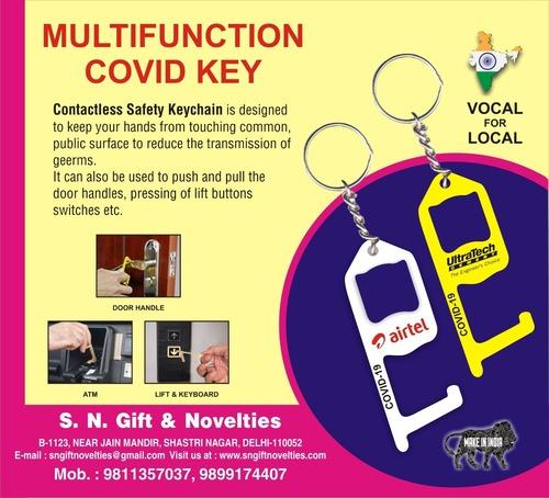 covid keychains