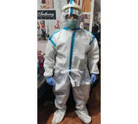 Protective PPE Suit