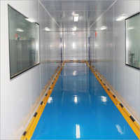 Mechanical Panel Portable Soft Wall Modular Clean Room