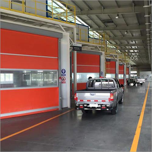 Warehouse Truck Roller Shutter High Speed Fast Door