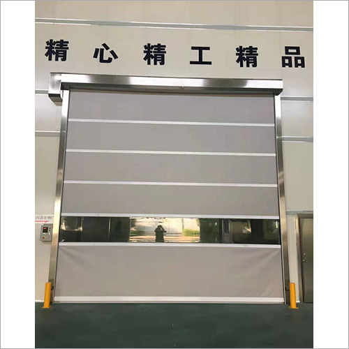 Warehouse Anti Theft High Speed Speedy Pvc Roll Up Door