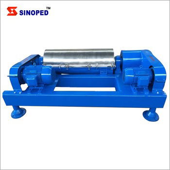 Oil Field Watertreatment Sludge Dewatering Decanter Centrifuge Machine