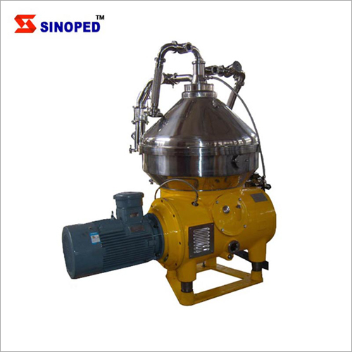 2 Phase Disk Centrifuge Machine For Algae Extraction And Concentration
