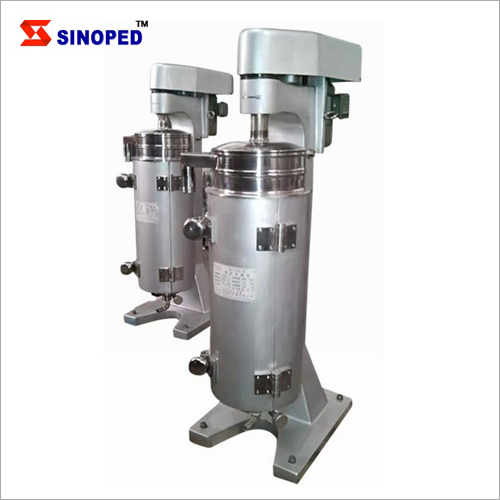 Stainless Steel Food Grade Tubular Centrifuge