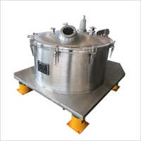 PD Series Bag Lifting Top Discharge Filter Centrifuge for Coconut Oil Centrifuge
