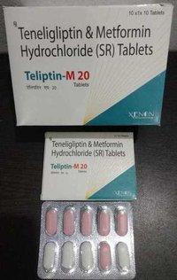 Teneligliptin & Metformin Hydrochloride (SR)Tablets