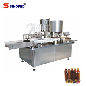 Oral Liquid Syrup Filling and Capping Sealing Machine