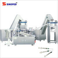 Disposable Syringe Machine For Manufacturing Line