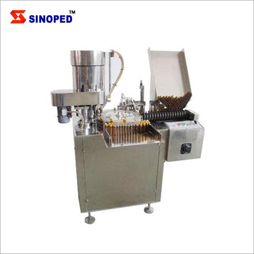 Liquid Filling And Stoppering Machine
