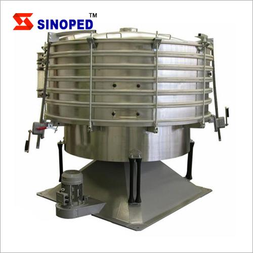 Circular Sugar Powder Vibratory Sifter Sieve Machine