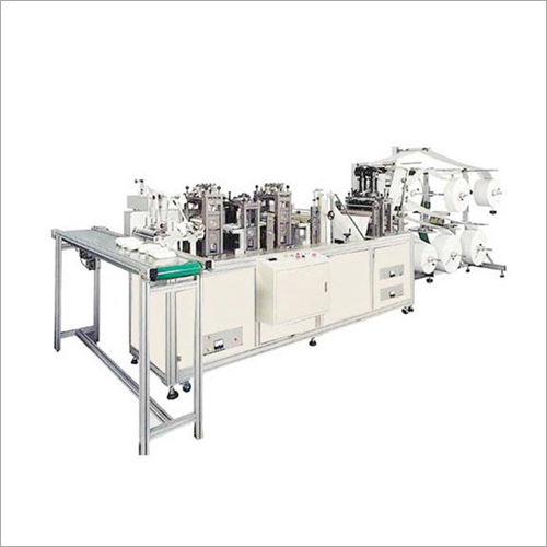 Fully Automatic Dust Mask Making Machine
