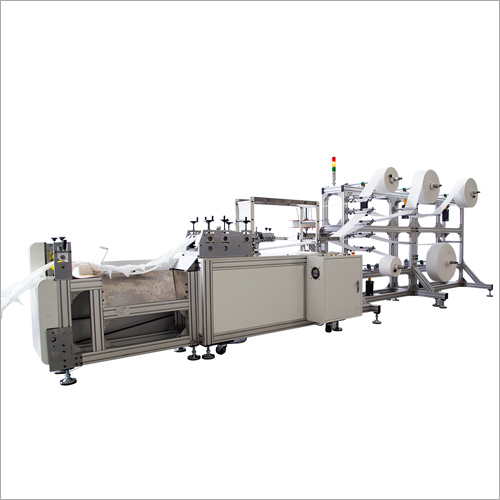 Full Automatic High Speed Disposable Facial Medical Mask Making Machine