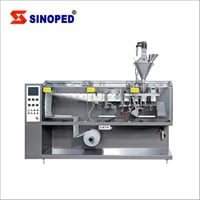 Seal Powder Zip Lock Bag Packing Machine