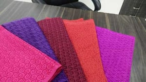 Caustic Print Brasso Cotton Nighty Fabric