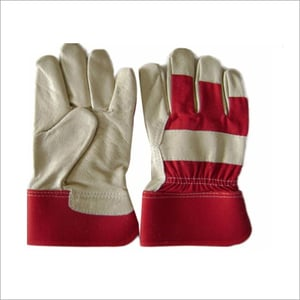 12 Inches Safety Industrial Leather Hand Gloves