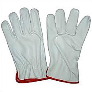 12 Inches White Chrome Hand Gloves