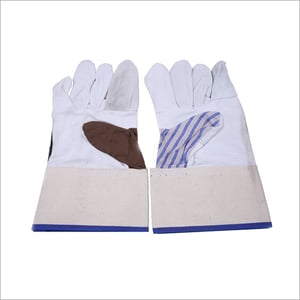 12 Inches Leather Jeans Hand Gloves